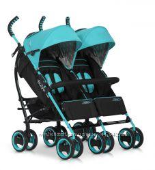 Прогулочная коляска для двойни EasyGo Duo Comfort