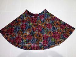 Крутая юбка солнце Topshop гобелен тренд высокая талия с-м