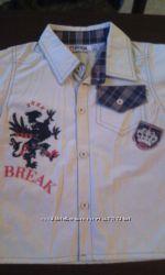 Рубашка, шведка на мальчика.