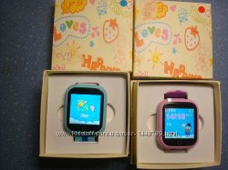 Детские часы с GPS трекером Q750 GW100 Q100s IPS дисплей1, 54 оригинал