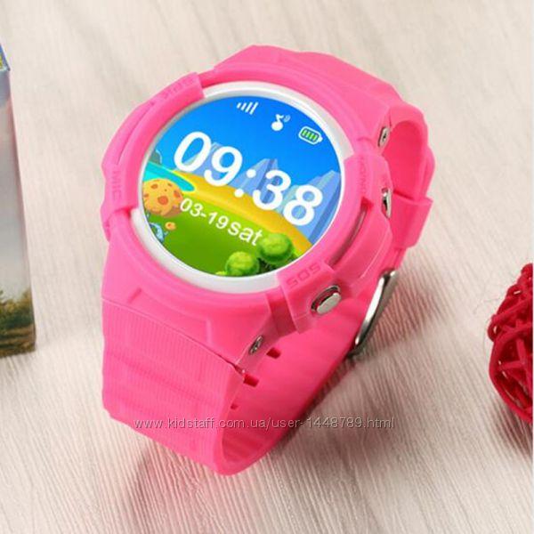 Lemado Smart Kid Watch V12 GPS умные противоударные часы