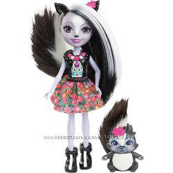 Кукла Седж Скунси Энчантималс Девочки животные  Enchantimals