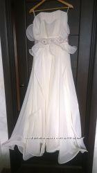 Необычное свадебное платье в греческом стиле