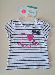 Нарядная футболка для девочки Minnie Mouse Disney Cool Club 62 см топ