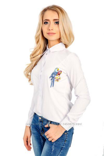 a948f122a06 Стильная рубашка с попугаем
