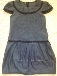 Школьная форма пиджак и сарафан 140р