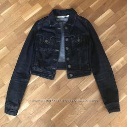 Джинсовая курточка Mango XS-S в отличном состоянии