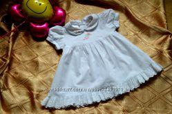 Фирменное симпатичное платьице на малышку 3-6 мес