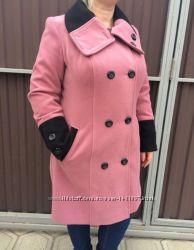 Пальто демисезонное 52 размер