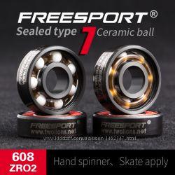 Підшипник керамічний гібридний Freesport 608 22 мм для скейтборду, роликів