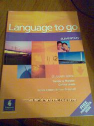 Новая книга Language to go Elementary Students book с ответами