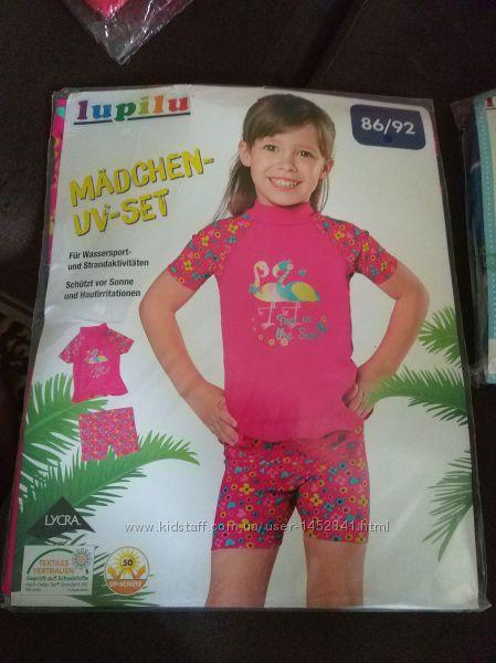 Сонцезахисні купальні костюми для дівчаток Lupilu