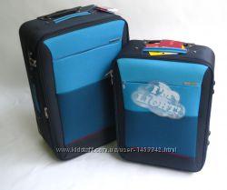 Испанский чемодан маленького, среднего, большого размера двухколесный