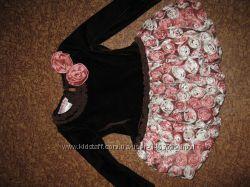 Продам платье для девочки jessica ann привезено из Америки на годик