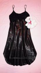 Роскошный пеньюар, ночная сорочка атлас и шифон Cinema Donna