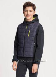 Термокуртка стеганная куртка SoftShell софтшелл C&A Германия р. 140, 164