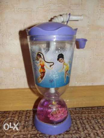 Стакан непроливайка  для маленькой малышки с принцессами Disney