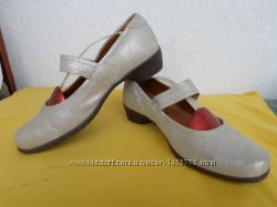 Туфли кожанние, нубук 38 размера