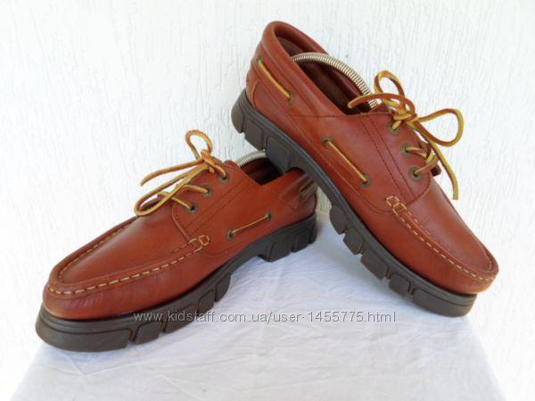 Кожанние туфли-топсайдери Pine Ridge р. 42