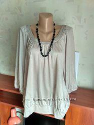 Красивая нежная блуза туника от m&s, 44-46-48