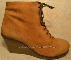 р. 41 Braska, натуральная кожа Стильные, комфортные ботильоны ботинки
