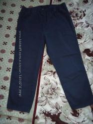 Бриджи джинсовые на пышные формы