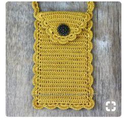 чехол для мобильного телефона ручная работа 50 грн вязание купить