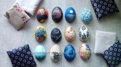 Магниты с ручной росписью в форме яйца