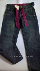 7-8 лет джинсы с трикотажной подкладкой из Италии OVS