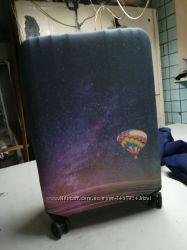 чехол на чемодан принт космос