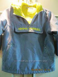 Куртка-батник девичий теплый 110 см рост