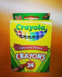 Восковые карандаши мелки CRAYOLA crayons 24