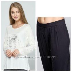453eccb6175e Домашний костюм или йога, пижама модал Jolinesse Германия, реглан капри