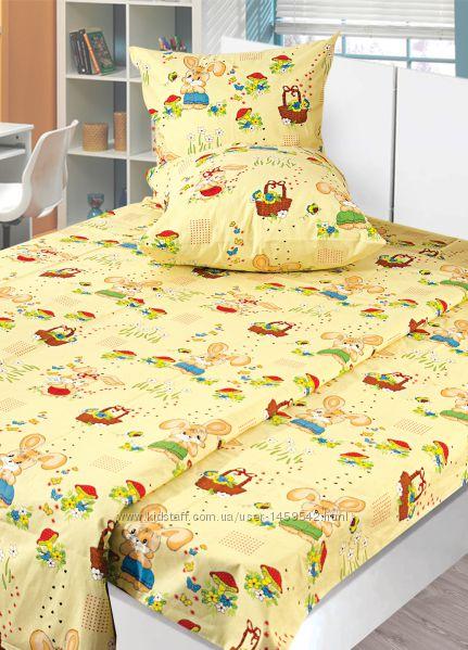 Комплект постельного белья детский, Сатин