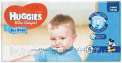 Подгузники Huggies Ultra Comfort для мальчиков 4 7-16 кг Jumbo Pack, 50 ш