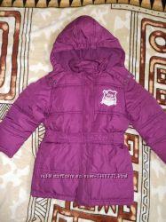 Куртка зимняя для девочки, рост 104-110см, фирма Tom Tailor
