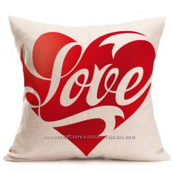 Наволочка на подушку Любовь, Романтика, День Святого Валентина, Подарок