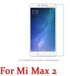 Стекло защитное на XIAOMI MI MAX2 экран сяоми