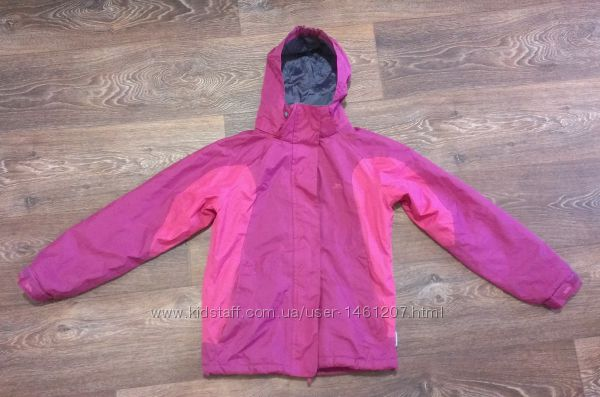 отличная термо-куртка 3000мм, р. 134-140