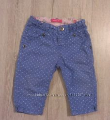 стильные джинсовые штанишки, р. 68-74