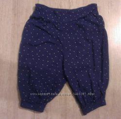 стильные легкие штанишки Mothercare, 3-9 мес