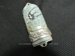 Эмблема значек пластина шильдик от велосипеда ХВЗ Харьков СССР обмен