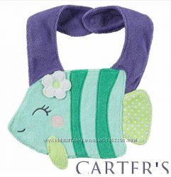 Слюнявчик Carter&acutes