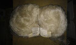 Капроновая и лесочная сетка и сетеполотно можно использовать под рассаду