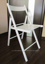 Удобный стульчик новый, белый икеа Терье