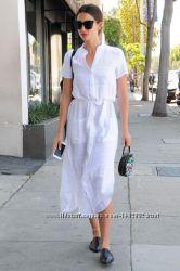 Платье, туника, платье-рубаха, рубаха льняная длинная. Из натурального льна