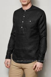Рубашка с короткой стойкой, с воротником, разные модели и цвета для высоког
