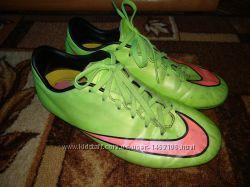 Бутсы Nike Mercurial 23, 5 см для двора