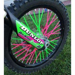 ПВХ накладки на спицы декор колеса мотоцикла велосипеда BMX шина