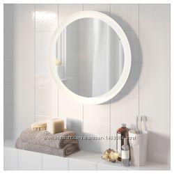Замечательное зеркало в ванную с подсветкой новое